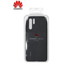 Coque Officielle PU Case pour Huawei P30 Pro Noir