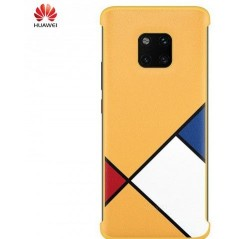 Coque Officielle Jaune Abstract Art pour Huawei Mate 20 Pro