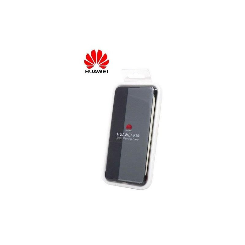 Coque Officielle Smart View Flip Cover Huawei P30 Noir