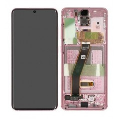 Écran Rose service pack Samsung S20