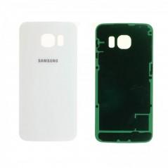 Vitre Arrière Originale Samsung S6 Blanc en service pack