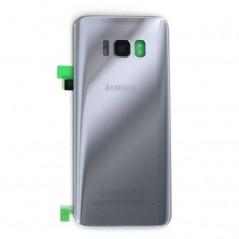 Vitre Arrière Originale Samsung S8 Argent en service pack