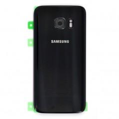 Back Cover Samsung S7 Noir