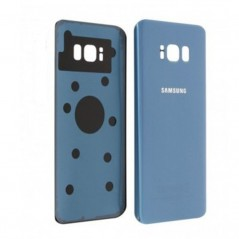 Back Cover Samsung S8 Bleu