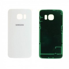 Back Cover Samsung S6 Edge Blanc