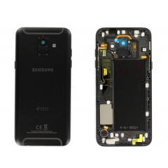 Back Cover Samsung A6 2018 Noir DUOS