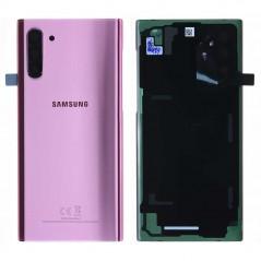 Back cover Samsung Note 10 Aura Rose Service Pack