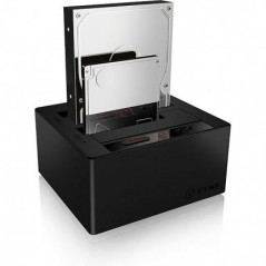 "Station de clonage pour HDD et SSD 2.5""et 3.5"" ICY BOX"