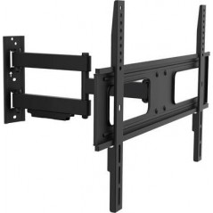 "Support Mural Inclinable et Pivotant pour TV 37""-70""-50kg LogiLink"