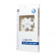 Adaptateur acoustique Blanc LogiLink