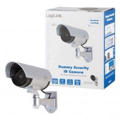 Caméra de surveillance factice Argenté LogiLink