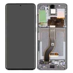 Écran Gris Samsung Galaxy S20+ Service Pack