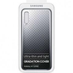 Coque Officielle Noir et Transparent Graduation Cover Samsung A7 2018