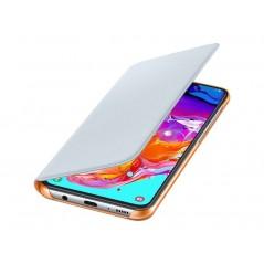 Étui Officiel Blanc Wallet Cover Samsung A70