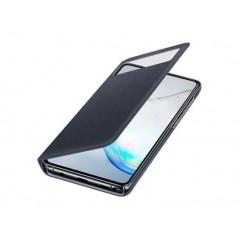 Étui Officiel Noir S View Wallet Cover Samsung Note 10 Lite