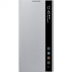 Étui Officiel Argent Clear View Cover Samsung Note 10