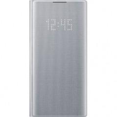 Étui Officiel Argent LED View Cover Samsung Note 10