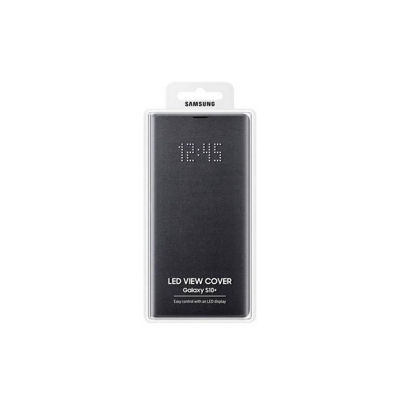 Étui Officiel Noir LED View Cover Smasung S10 Plus