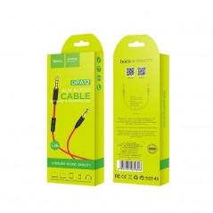 Câble HOCO Audio AUX UPA 12 avec Micro Noir 1m