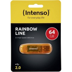 Clé USB intenso Rainbow line 64Gb