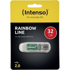 Clé USB intenso Rainbow line 32Gb