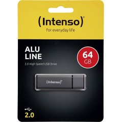 Clé USB intenso Alu line 64Gb