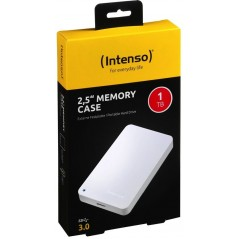 "Disque dur externe 2,5"" Intenso Memory Case 1 TB USB 3.0 Blanc"