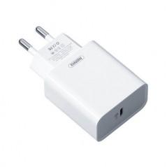 Adaptateur Secteur Remax USB Type-C 18w (RP-U46) Blanc