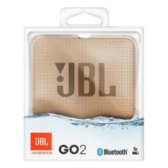 Enceinte bluetooth Champagne JBL Go 2