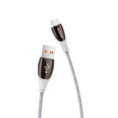 Câble Gris USB Type C 3A - 1,23M - Dudao L7 Pro