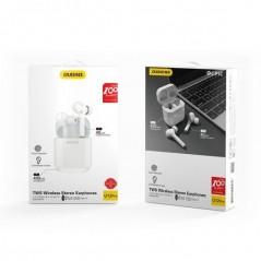 Mini écouteurs sans fil Bluetooth 5.0 Blancs TWS Dudao (U12 Pro)
