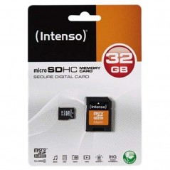 Carte Micro USB SDXC Intenso 32Gb