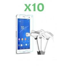 Lot de 10 Verres trempés pour Sony Z3 Compact