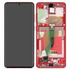 Écran Samsung Galaxy S20+ Rouge service pack