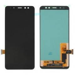 Écran reconditionné Noir OLED Samsung Galaxy A8 2018