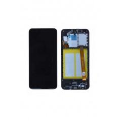 Écran reconditionné avec châssis Noir OLED - Samsung Galaxy A20e