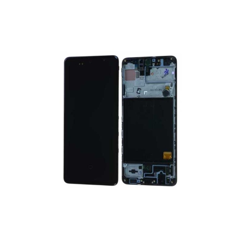 Ecran Samsung Galaxy A51 (SM-A515) Noir Service Pack