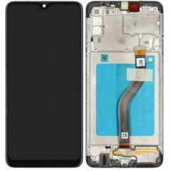 Écran Samsung Galaxy A20S Noir Service Pack