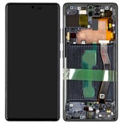 Écran Samsung Galaxy S10 Lite Noir Service Pack