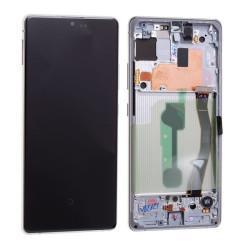 Écran Samsung Galaxy S10 Lite Blanc Service Pack