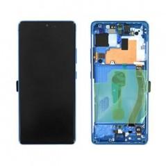 Écran Samsung Galaxy S10 Lite Bleu Service Pack