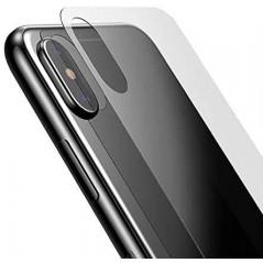 Verre Trempé Back Cover Baseus 0.3mm iPhone X Transparent (SGAPIPHX-BM02)