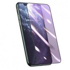 Verre Trempé Baseus 0.25mm Anti-Lumière Bleue Full pour iPhone X / XS / 11 Pro Noir (SGAPIPH58S-HB01)