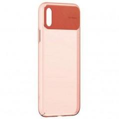 Coque Orange Baseus Comfortable iPhone X / XS (WIAPIPH58-SS01 / WIAPIPH58-SS02 / WIAPIPH58-SS07 / WIAPIPH58-SS13)