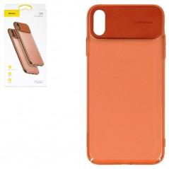 Coque Orange Baseus Comfortable iPhone XS Max (WIAPIPH65-SS01 / WIAPIPH65-SS02 / WIAPIPH65-SS07 / WIAPIPH65-SS13)