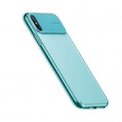 Coque Cyan Baseus Comfortable pour iPhone XR (WIAPIPH61-SS01 / WIAPIPH61-SS02 / WIAPIPH61-SS07 / WIAPIPH61-SS13)