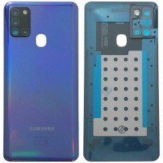 Back Cover Bleu Samsung A21S Service Pack