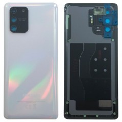 Back Cover Blanc Samsung S10 Lite Service Pack