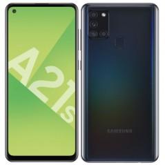 Téléphone Noir Samsung A21S 32Go Neuf
