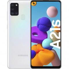 Téléphone Samsung A21S Blanc 32Go Neuf